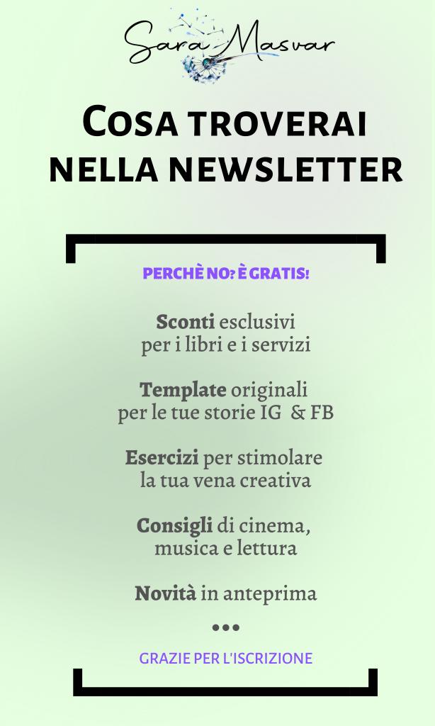 info newsletter sara masvar